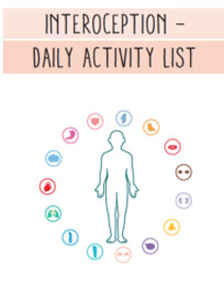 Interoception Daily Activity List
