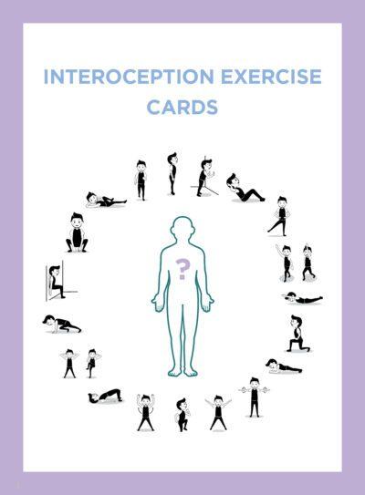 Interoception Exercise Cards